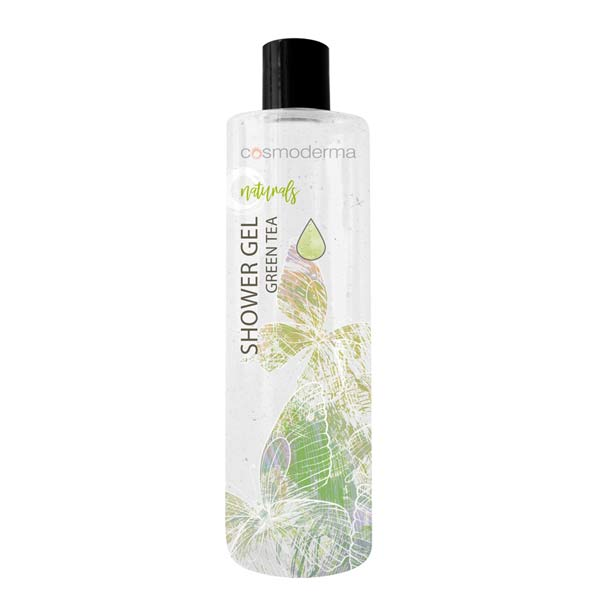 SHOWER GEL FOR BODIES WITH GREEN TEA EXTRACT