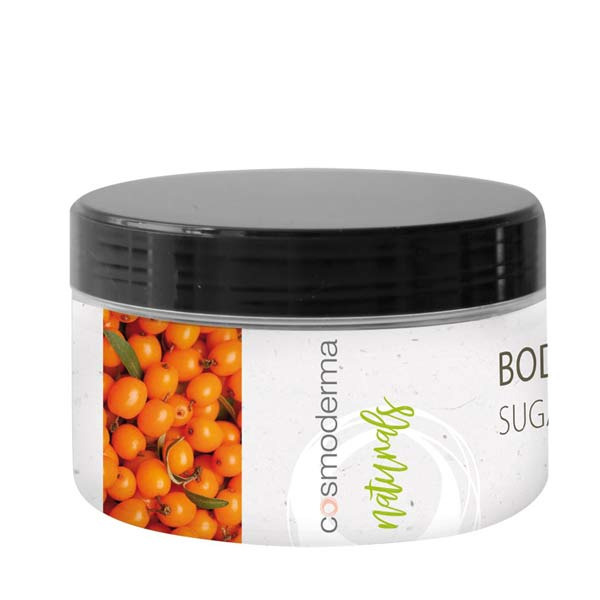 HYDROCHLORIC PEELING  TO THE BODY WITH THE OIL FROM SEA BUCKTHORN FRUIT